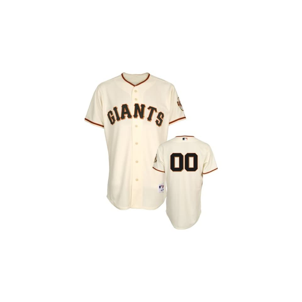 San Francisco Giants Jersey Any Number Home Ivory Authentic On Field Jersey without World Series Champs Patch