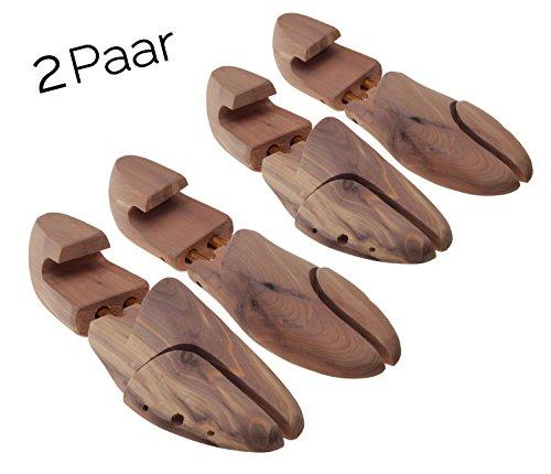 Max No.2 tendiscarpe en legno die cedro (Set 2 paios), by MTS shoecare (EU 42 / UK 8 / US 10,5)