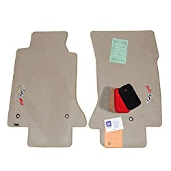 Corvette C5 Shale 50th Anniversary Floor Mats 2003 High-End