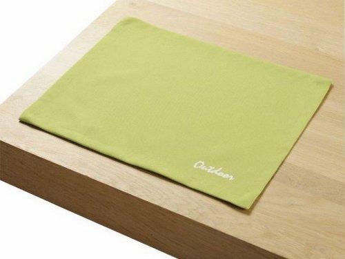 """4 Stück Outdoor TISCHSET """"St.Tropez apple"""" Placemat Gartentisch Tisch- Platzset abwaschbar 30cmx40cm bestellen"""