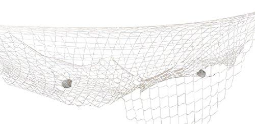 Boland 44351 - Rete da Pesca Decorativa, 400 x 200 cm, Beige