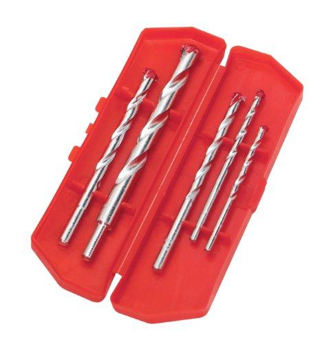 TEKTON 7293 Masonry Drill Bit Set, 5-Piece