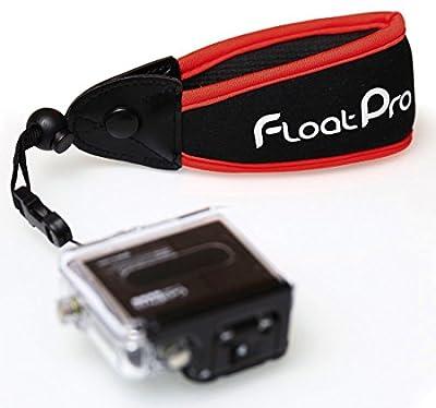 FloatPro GoPro & Waterproof Camera Float. #1 Best Floating Wrist Strap On The Market. Full 1-Year Warranty.