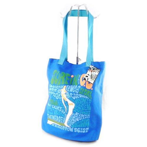 Shopping bag 'Roxy' blu.
