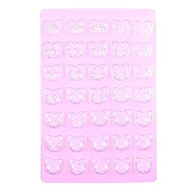 Chocolate Candy Making Molds Baby Shower F172 Fox Faces Fondant Easter Egg Jelly Baking Wedding
