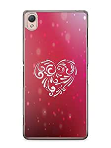 YuBingo Beautiful Heart Mobile Case Back Cover for Sony Xperia Z3