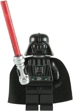 LEGO Star Wars: Darth Vader Mini-Figurine Avec Rouge Lightsaber