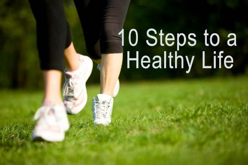 Ten Steps To A Healthy Life