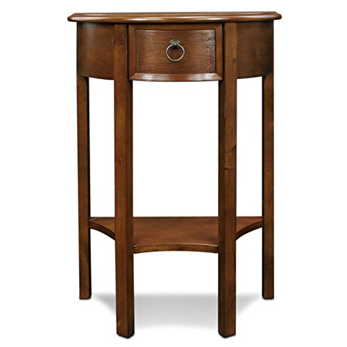Leick Demilune Hall Console Table (Accent Tables Hallway compare prices)