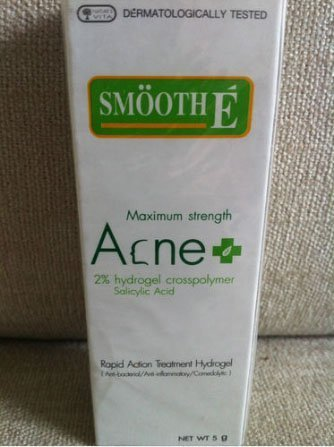 Smooth E Acne Cream Hydro Gel Maximum Strength (5G) Has Salicylic Acid