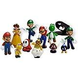 """Mario Goldie Super Mario Series 1 and 2 Set, 2"""", 12-Pack"""