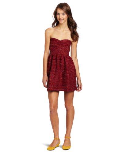 Roxy Juniors Fall Doll Tube Dress, Sea Urchine Stripe, X-Large