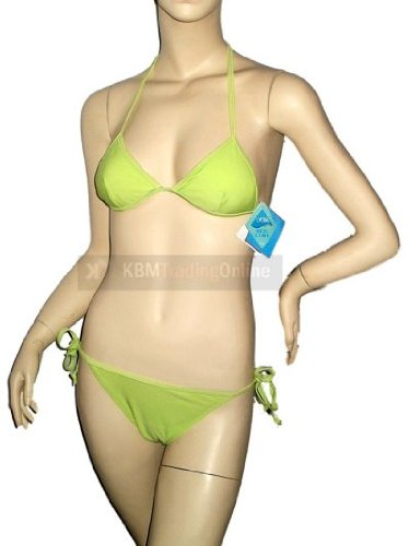 Girls Teens Swimwear Green Bikini Swimming Costume Swimsuit 12-13 yrs