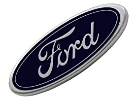 Ford F81Z-8213-AB Front Grille Emblem 7 inches by 2 3/4 inches