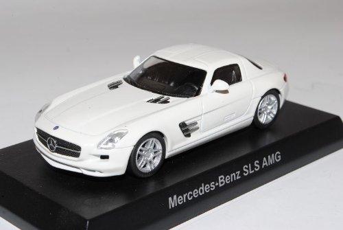 Mercedes-Benz SLS AMG C197 Coupe Weiss Ab 2009 1/64 Kyosho Sonderangebot Modell Auto