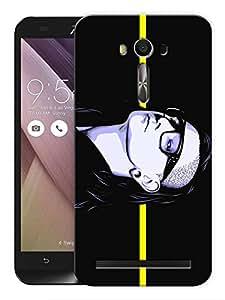 """Humor Gang Skrillex On A Line Printed Designer Mobile Back Cover For """"Asus Zenfone 2"""" (3D, Matte, Premium Quality Snap On Case)"""