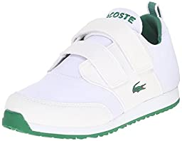 Lacoste L.Ight 116 1 Sneaker (Toddler/Little Kid/Big Kid), White, 4 M US Toddler