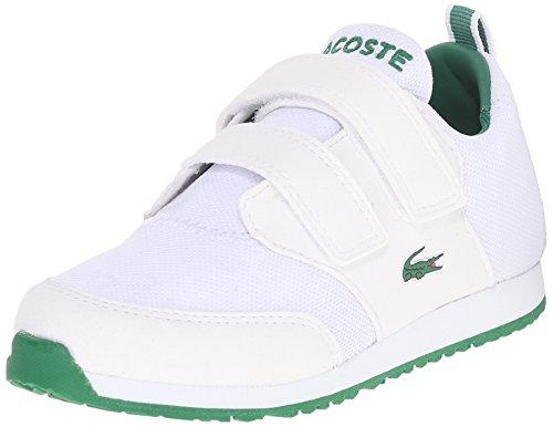 Lacoste L.Ight 116 1 Sneaker (Toddler/Little Kid/Big Kid), White, 4 M US Toddler