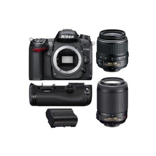 REFLEX Numérique D7000 + AF-S DX 18-55mm 3,5-5,6G VR + AF-S DX VR 55-200 mm f/4-5.6 G IF ED GARA...