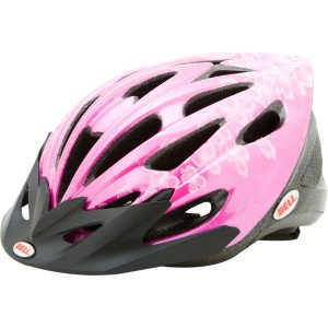 Bell Helmets Alibi Bike Helmet – Youth Pink Flowers, UY
