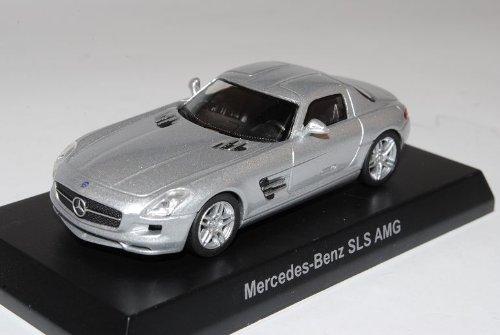 Mercedes-Benz SLS AMG C197 Coupe Silber Ab 2009 1/64 Kyosho Sonderangebot Modell Auto