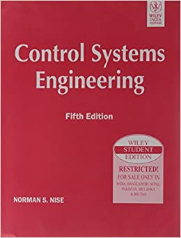NISE CONTROL ENGINEERING NORMAN SYSTEMS