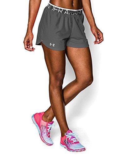 Under Armour Women's UA Depict Up Shorts Medium PHANTOM GRAY