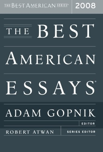 The Best American Essays 2008 front-848072