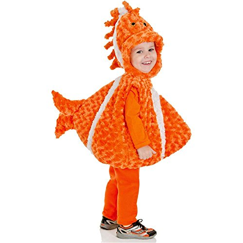 Big Mouth Clown Fish Plush Belly Toddler Costume