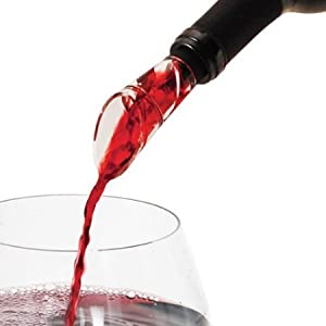 Basily Wine Aerator --- BREATHES wine straight from the bottle! | HASSLE-FREE Spout Pourer... by Basily