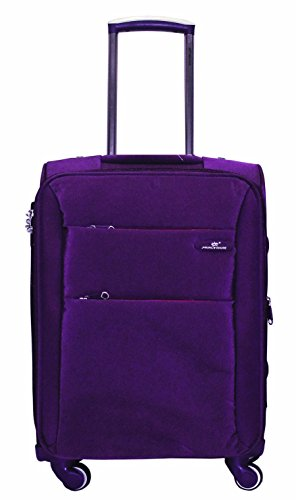 Princeware Princeware Michigan Nylon 78 Cms Purple Suitcase (6993) (Violet)