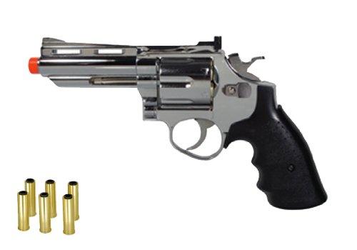 hfc hg-132 4 barrel gas revolver, silver airsoft gun(Airsoft Gun) (290 Fps Airsoft Gun compare prices)