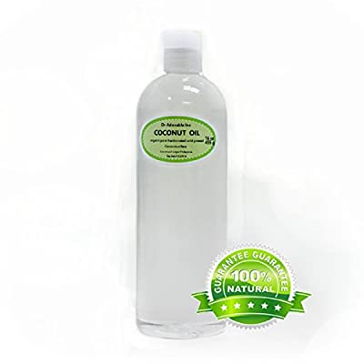 Organic Pure Fractionated Coconut Oil 16 Oz