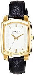 Sonata Analog White Dial Womens Watch - ND7094YL01