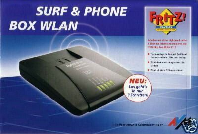 FRITZ!Box Surf & Phone WLAN 7113 – AVM Fritz Box Fritzbox WLAN Router DSL-Modem DSL-Router Internetmodem