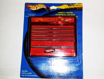 Hot Wheels Collectible Toolbox with Sucker - 1