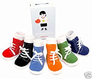 TRUMPETTE Johnny - Calcetines para bebé (0 a 12 meses, 6 pares) marca Trumpette - Bebe Hogar