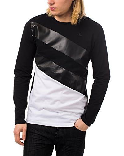 Rivaldi Camiseta Manga Larga Negro