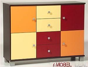 kommode rot angebote auf waterige. Black Bedroom Furniture Sets. Home Design Ideas