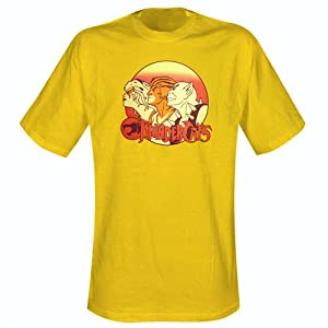 Thundercats Clothing on Thundercats   T Shirt Group  In L   Amazon Co Uk  Sports   Outdoors