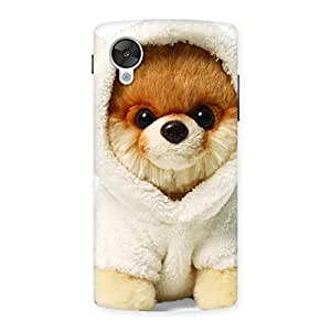Ajay Enterprises Delight Boo Dog Back Case Cover for Google Nexsus 5