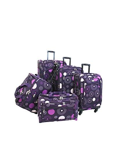 American Flyer Fireworks 5-Piece Spinner Set, Purple