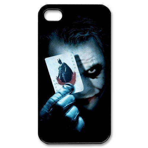 Joker And Batman Pattern Plastic Protective Hard Case for iPhone 4 4S