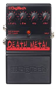 digitech ddm death metal analog distortion pedal musical instruments. Black Bedroom Furniture Sets. Home Design Ideas
