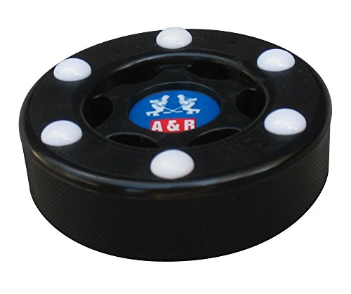 A R Sports Inline Street Hockey Puck Black