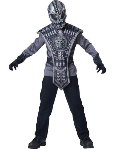 Kids-Costume Alien Warrior Child Costume Sm Halloween Costume