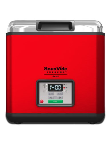 Sous Vide Supreme Demi Water Oven, Red, Svd-00103