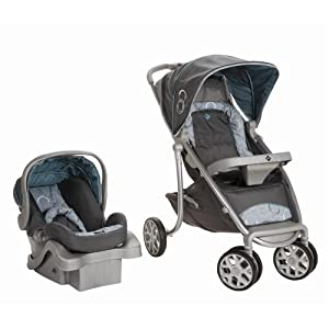 Safety 1st SleekRide LX Travel System, Rings (Discontinued by Manufacturer)