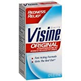 Choice Special Pack Of 6 Visine Original Redness Reliever Eye Drops - 0.5 Oz