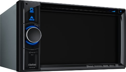 Clarion Corporation of America NX404 DVD Multimedia Receiver with Built-In Navigation